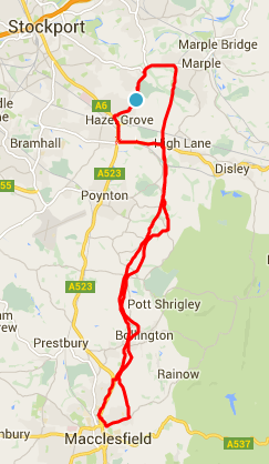 From Marple to Macclesfield (and back!)